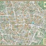Современная Карта Киева с отмеченными достопримечательностями