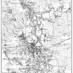 Карта Киева 1850 года