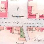 План Майдана (Крещатицкой площади) в 1871 году