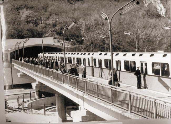 Станция метро Днепр в 1960 году