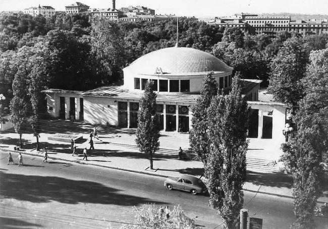 Станция метро Университет в Киеве в 1961 году