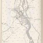 Карта Киева и окрестностей 9-13 века