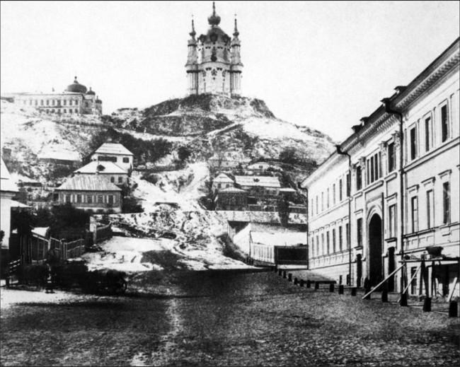Андреевский спуск в 1852 году