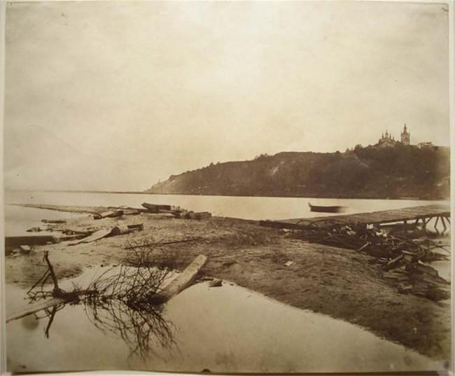 Правый берег Днепра в 1952 году