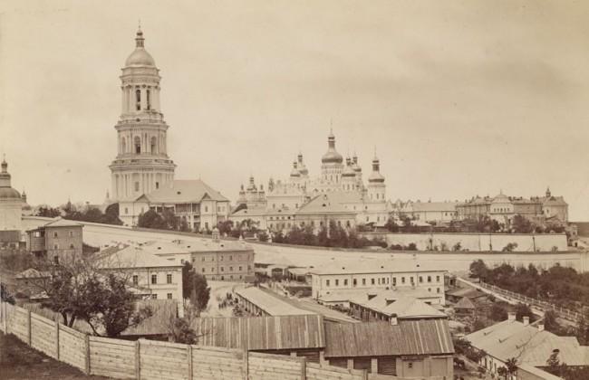 Лавра в 1860 году