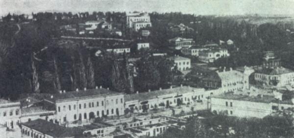 Крещатик в 1860 году