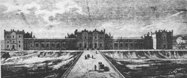 Вокзал Киева в 1880-х годах