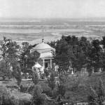 Аскольдова могила, черно-белое фото 19 века