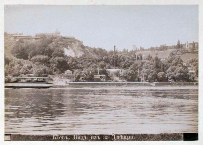 Правый берег Днепра в конце 19 века