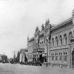 Здание НБУ на улице Институтской в конце 19 века