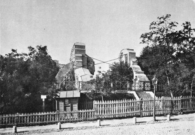 Золотые ворота в 90-х годах 19 века