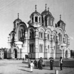 Соборы города Киева, черно-белые фото 19 века