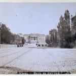 Художественный музей в конце 19 века, вид с улицы Грушевского