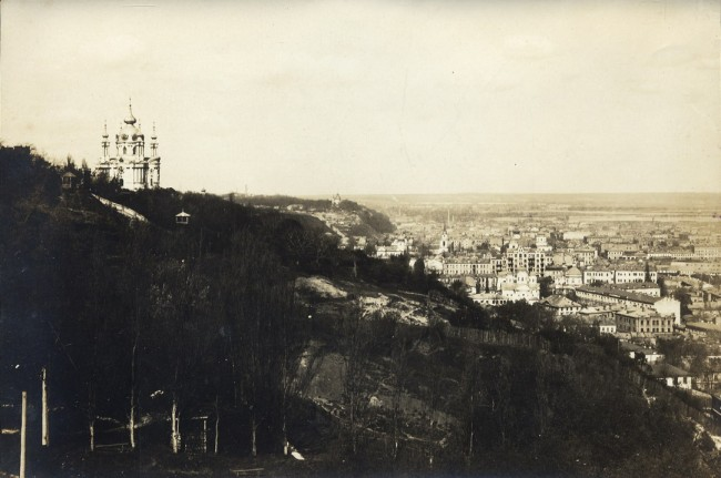 Андреевская церковь на холме, начало 20 века