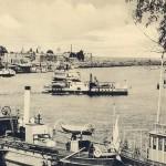 Днепр и Подол черно-белое фото начала 20 века