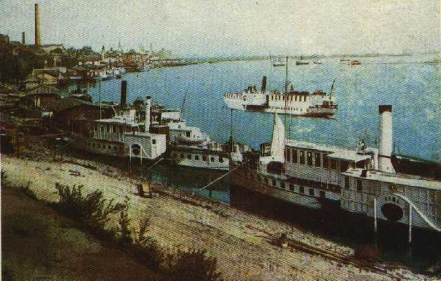 Речной вокзал в начале 20 века
