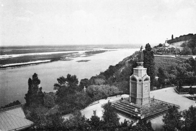 Владимирская горка и памятник святому Владимиру в начале 20 века