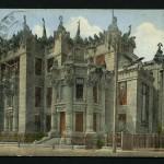 Архитектор Городецкий, дом с химерами, Киев, начало 20 века