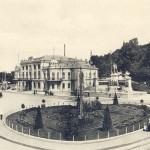 Трамвайная линия на бывшей Царской площади в 1900-х годах