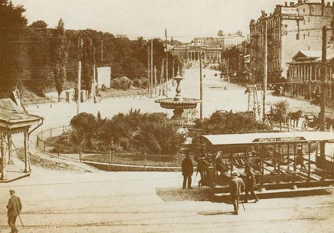Европейская (Царская) площадь в начале 20 века