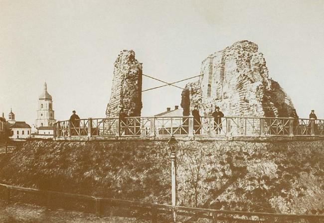 Золотые ворота в начале 20 века