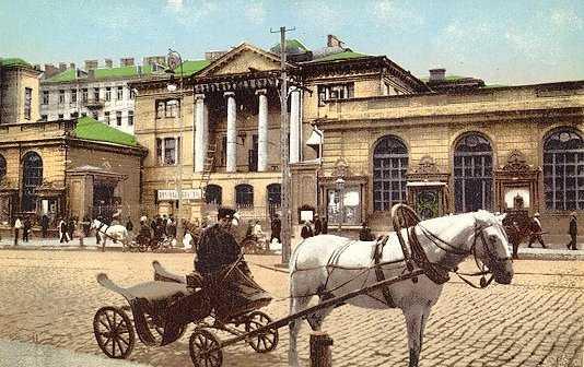 Старый почтампт на Крещатике