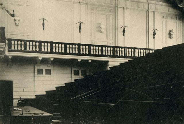 Аудитория политеха в Киеве в начале 20 века