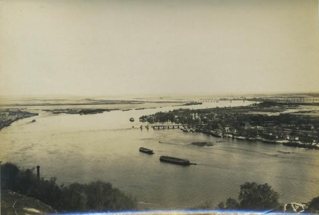 Вид на Днепр, начало 20 века