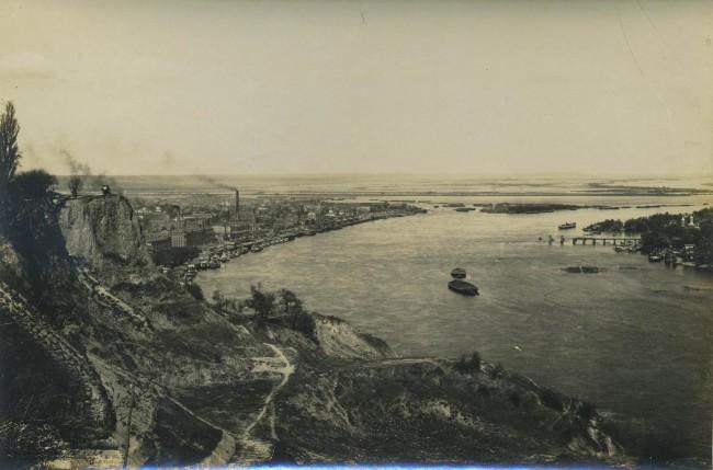 Днепр, Правый берег и Подол, начало 20 века