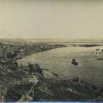 Правый и Левый берега Днепра, черно-белое фото начала 20 века