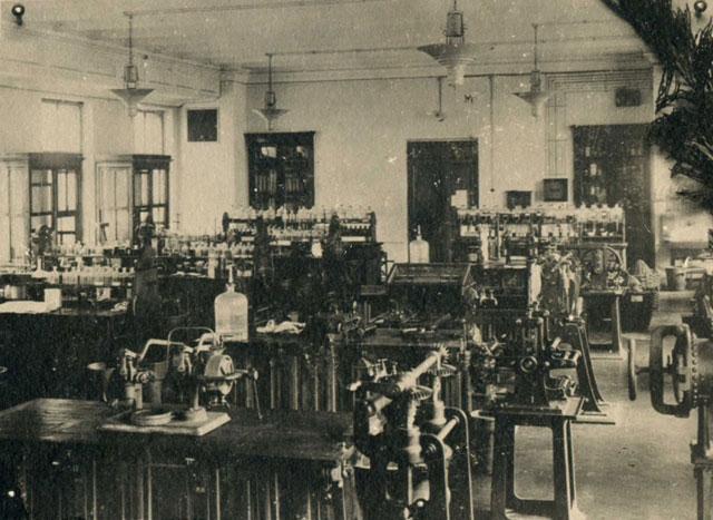 КПИ, начало 20 века, лаборатория, Киев