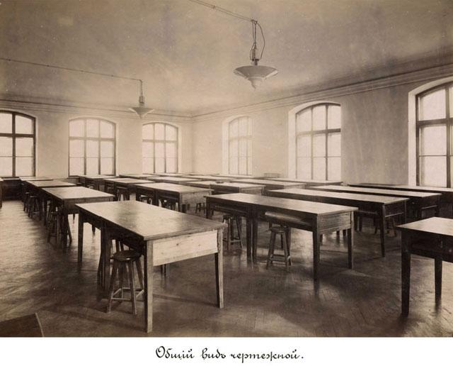 1902 год. Чертежная, КПИ