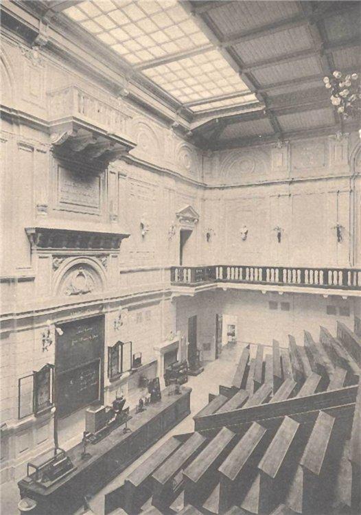 Большая физическая аудитория в КПИ, 1903 год