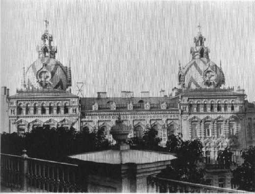Дом на Андреевском спуске в начале 20 века