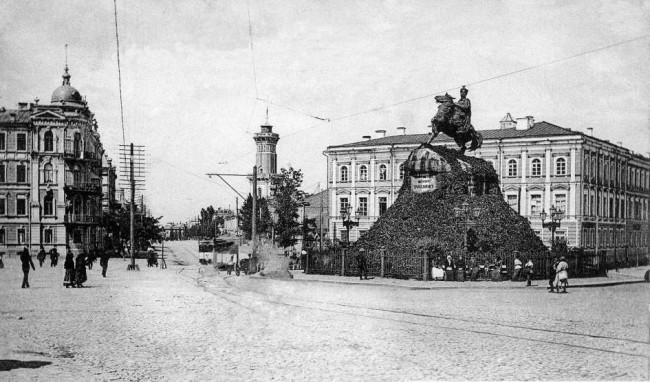 Улица Владимирская в 1906 году