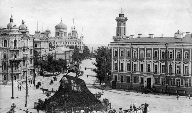 Владимирская улица в 1906 году