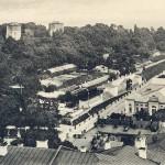 1910-е годы. Парковый мост над Петровской аллеей