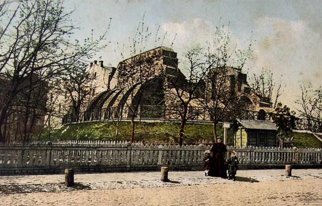 Золотые ворота в 1912 году