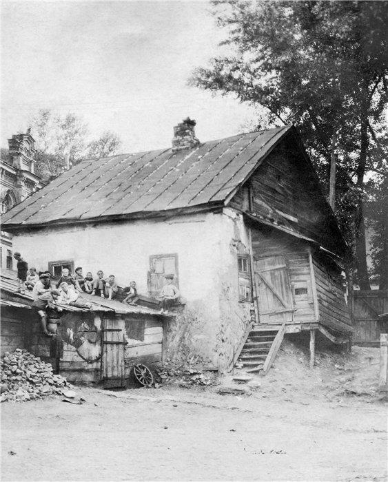 Дворы Андреевского спуска, 20-е годы, Киев