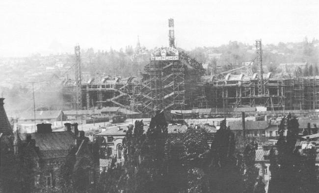 Как строился киевский вокзал в 1927 году