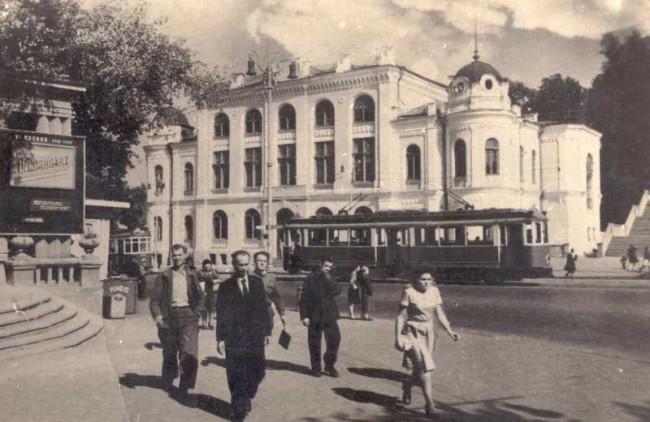 Европейская (Третьего Интернационала) площадь в 1930-х годах
