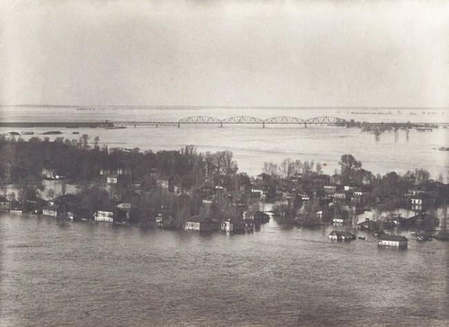 Фотографии потопа на Трухановом острове в 1931 году