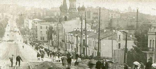 Улица Коминтерна в 1934 году