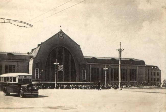 Киевский вокзал в 1935 году