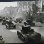 Танки на Крещатике - военный парад в 1938 году