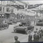 1 мая на Крещатике в 1939 году, парад, танки