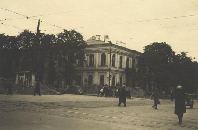 Владимирская улица в 40-х годах 20 века