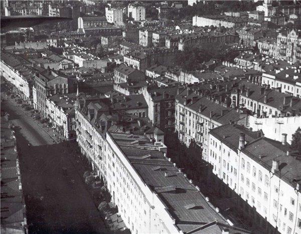 Крещатик в 1940-х годах