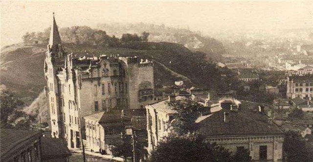 Замок Ричарда Львиное сердце в 1941 году