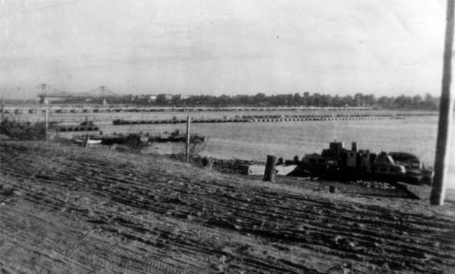 1942 год. Днепровская набережная